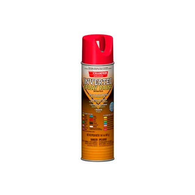 Champion Sprayon® APWA Red Inverted Paint 12 Cans/Case - 419-4857