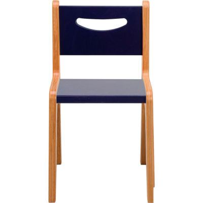 "Whitney Plus Chair - 14"" Seat Height - Scandinavian Blue"