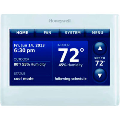 Honeywell Prestige Color Touchscreen Thermostat With Redlink™ THX9421R5021WW White