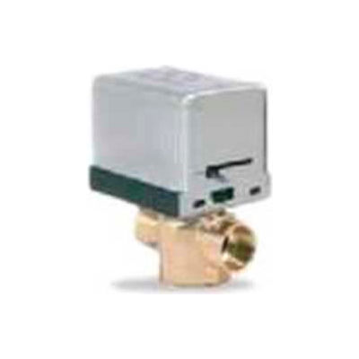 """Erie 1"""" General Purpose Sweat Zone Valve With 24V Actuator & End Switch VT2417G13A02A"""