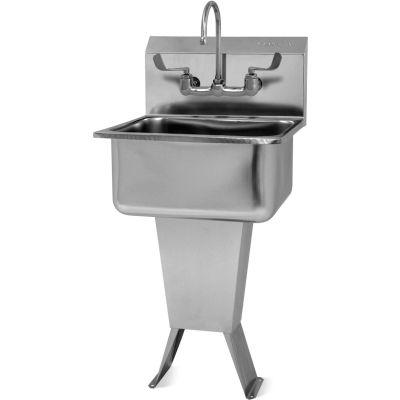 Sani-Lav® 521FL Floor Mount Sink With Faucet