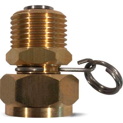 Sani-Lav® N17 Swivel Hose Adapter, Brass, 3/4″ MGHT x 3/4″ FGHT