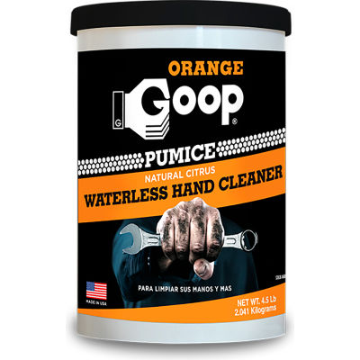 Orange Goop® Hand Cleaner With Pumice - 4-1/2 lb. Can