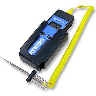 Cooper-Atkins® Waterproof T/C Instrument, 94003-K, With 50209-K Probe, Wall Bracket