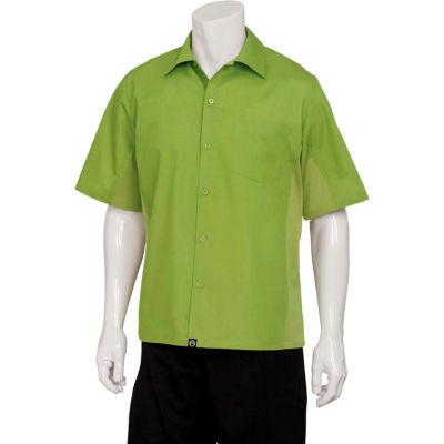 Chef Works® Universal Shirt, Lime, XS - CSMVLIMXS