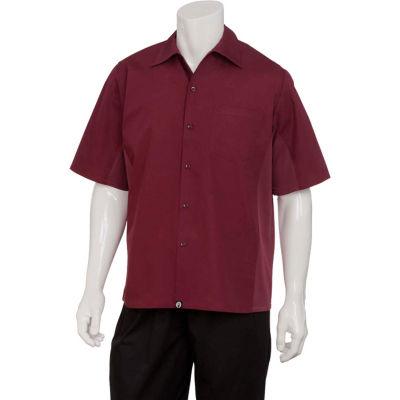 Chef Works® Universal Shirt, Merlot, L - CSMVMERL