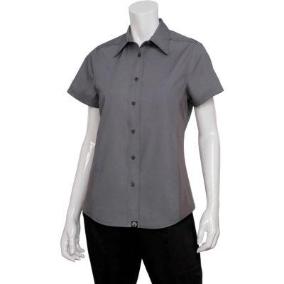 Chef Works® Women's Universal Shirt, Gray, L - CSWVGRYL