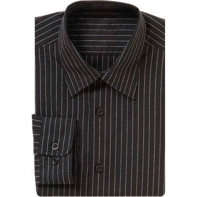 Chef Works® Onyx Dress Shirt, Charcoal Dash, L - D300CDAL