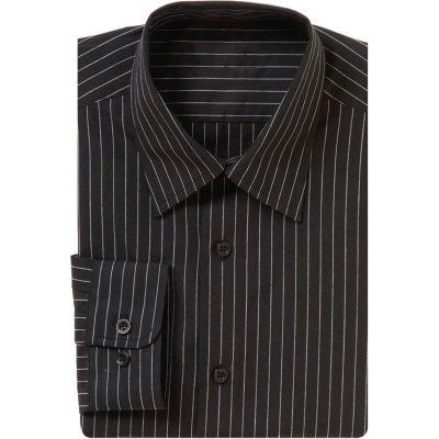 Chef Works® Onyx Dress Shirt, Charcoal Dash, M - D300CDAM