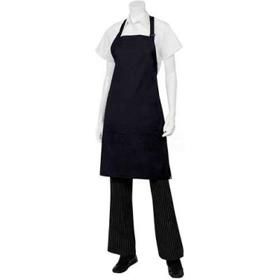 "Chef Works® F8NAV0, Butcher Aprons, Navy, 34""x24"""