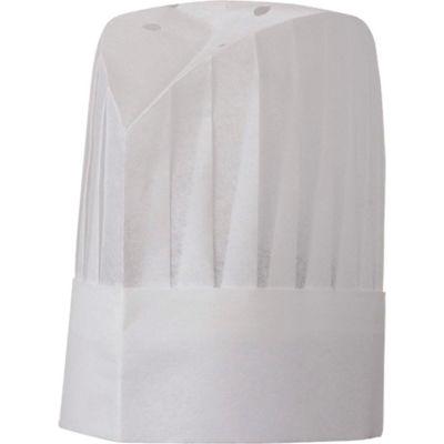 Chef Works® Le Toque - European Style, White, Size 12 - PLEAWHT12