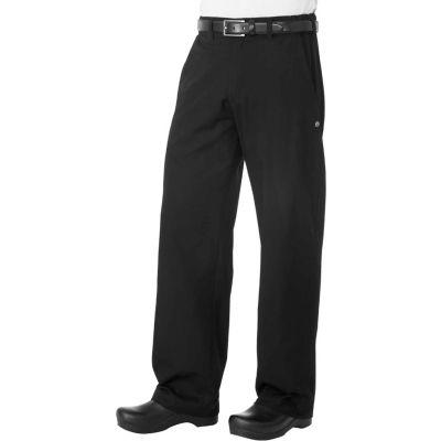 Chef Works® Professional Series Men's Chef Pants, Black, M - PSERBLKM