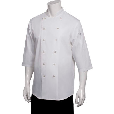Chef Works® Chef Shirt, White, XS - S100WHTXS
