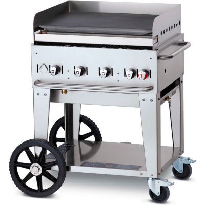 """Crown Verity Mobile Outdoor Griddle 30"""" NG - MG-30"""