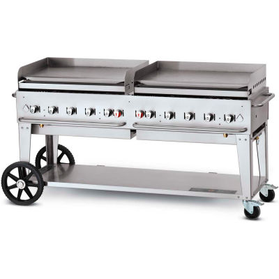 "Crown Verity Mobile Outdoor Griddle 72"" NG - MG-72"