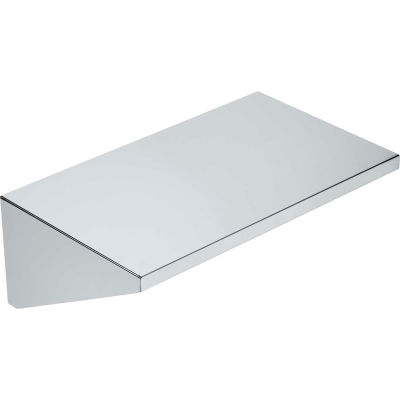 """Crown Verity Stainless Steel Removable End Shelf 14""""W x 23""""D - RES"""