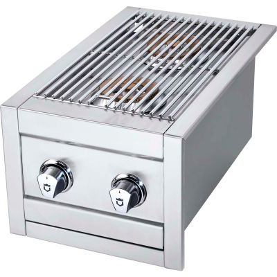 Crown Verity Stainless Steel Side Burner For BI Models LP - SB-BI