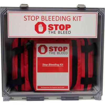 Celox BioLogistex 5MPSBK2 Multi-Person Bleeding Kits, 5 Kits, Hemostatic Gauze
