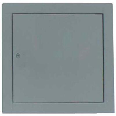 "Multi Purpose Metal Access Panel, Cam Lock, White, 16""W x 16""H"