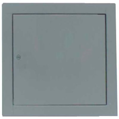 "Multi Purpose Metal Access Panel, Cam Lock, White, 22""W x 22""H"