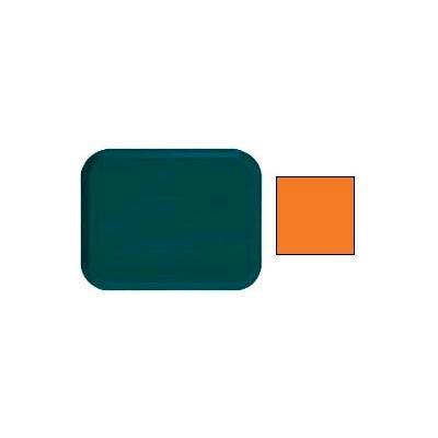 "Cambro 1014222 - Camtray 10"" x 14"" Rectangle,  Orange Pizazz - Pkg Qty 12"