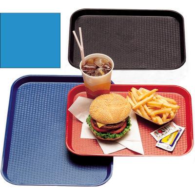 """Cambro 1014FF168 - Tray Fast Food 10"""" x 14"""" -  Blue - Pkg Qty 24"""