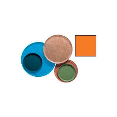 "Cambro 1200222 - Camtray 12"" Round,  Orange Pizazz - Pkg Qty 12"