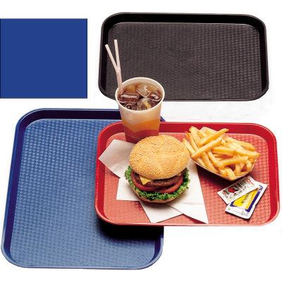 "Cambro 1216FF186 - Tray Fast Food 12"" x 16"",  Navy  Blue - Pkg Qty 24"