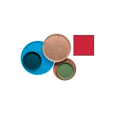 """Cambro 1300521 - Camtray 13"""" Round,  Cambro Red - Pkg Qty 12"""