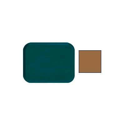 """Cambro 1418508 - Camtray 14"""" x 18"""" Rectangular,  Suede Brown - Pkg Qty 12"""