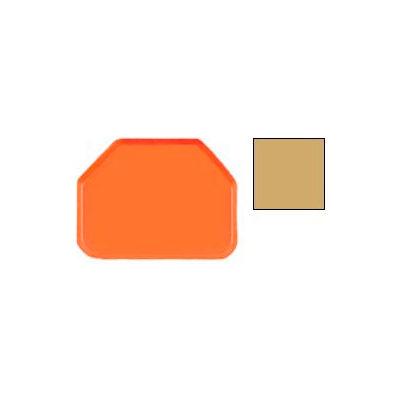 "Cambro 1418TR514 - Camtray 14"" x 18"" Trap,  Earthen Gold - Pkg Qty 12"