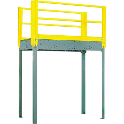 "Equipto 977S08 Catwalk, 96"" High Unit, Walkway 96"" x 48"""