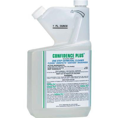 MSA Confidence Plus Germicidal Cleaner, 32 Oz., 10009971 - Pkg Qty 2