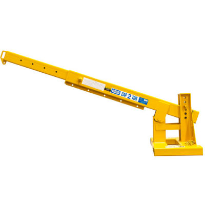 "Contrx Pivot Boom Forklift Jib-Lift Crane PB-JLT848 - 8000 Lb. Capacity - 48"" On-Center Fork Pockets"