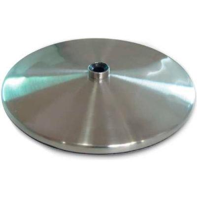 Daylight™ Brushed Stainless Steel Slimline Table Base