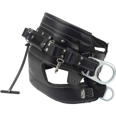 DBI-SALA® SEAT-BELT™ 4D Lineman Tongue Buckle Belt With Contoured Seat Pad, Size D23