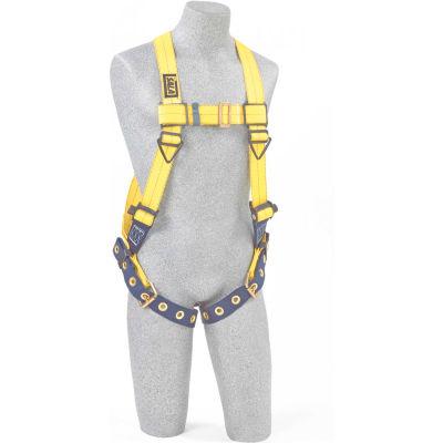 DBI-SALA® 1101253 Delta Vest Style Full Body Harness, Tongue Buckle, 420 Cap Lbs, XXL