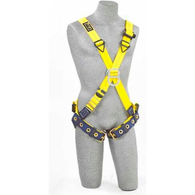 3M™ DBI-SALA® Delta™ CrossOver Harnesses 1102950, Front/Back D-rings, Tongue Buckle