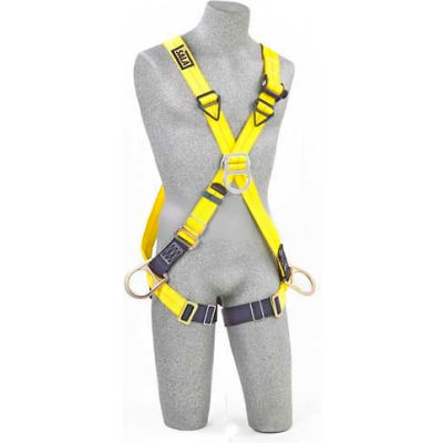 DBI-Sala™ CrossOver Style Harnesses 1103270, Front, Back & Side D-Rings, Universal