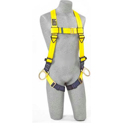 3M™ DBI-SALA® Delta™ Vest Harness 1103877,,Back & Side D-Rings, Pass Through, XL