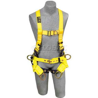 DBI-Sala™ Tower Climbing Harness 1107777, W/Back D-Ring, Tongue Buckle Legs, Medium