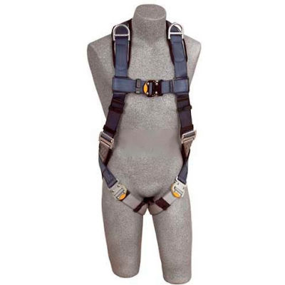 ExoFit™ Vest Style Harness 1108751, W/Back & Shoulder D-Rings, Quick Connect Buckles, Small