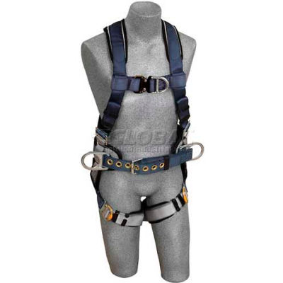 3M™ DBI-SALA® ExoFit™ Construction Harness 1108977, Front/Back D-Ring, S