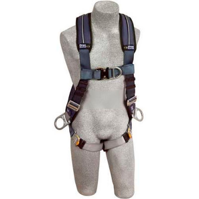 ExoFit™ XP Vest Style Harness 1109752, Front, Back & Side D-Rings, Quick Connect Buckles, L