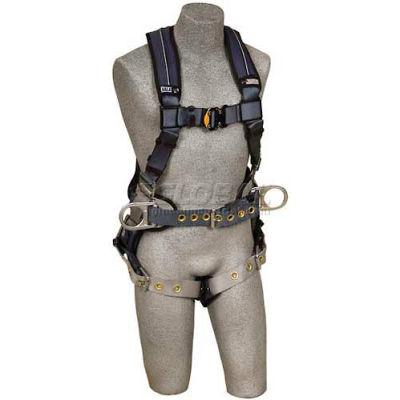 3M™ DBI-SALA® ExoFit™ XP Construction Harness 1110177, Back & Side D-Rings, Tongue, L