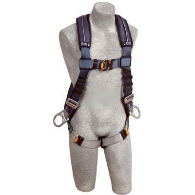 ExoFit™ XP Vest Style Harness 1110228, W/Back & Side D-Rings, Quick Connect Buckles, X-Large
