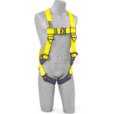 DBI-Sala™ Vest Style Harness 1110625, W/Back & Side D-Rings, Quick Connect Buckles, Universal
