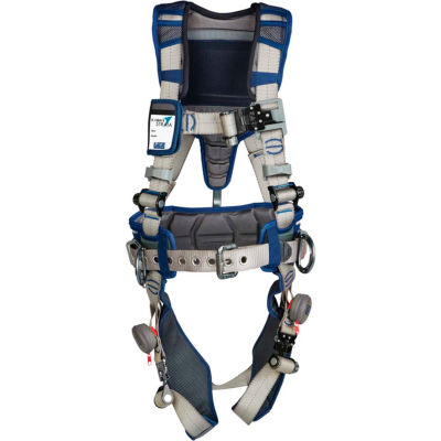 3M™ DBI-SALA® ExoFit STRATA™ Construction Harness, Back/Side D-Ring, XL, 1112538