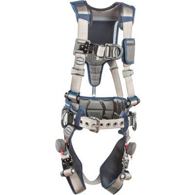3M™ DBI-SALA® ExoFit STRATA™ Construction Harness, Back/Front/Side D-Ring XXL 1112544
