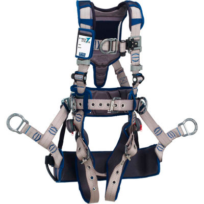 3M™ DBI-SALA® ExoFit STRATA™ Climbing Harness, Back/Front/Side D-Ring, XL, 1112588